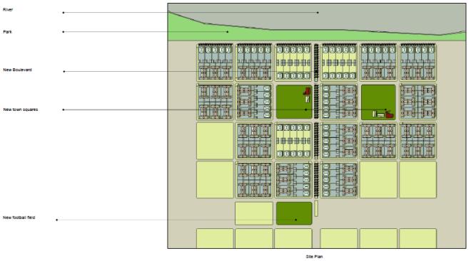 Pilar Site Plan